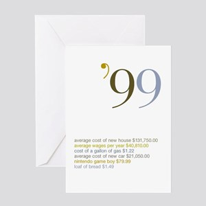 1999 Fun Facts Birthday Greeting Card